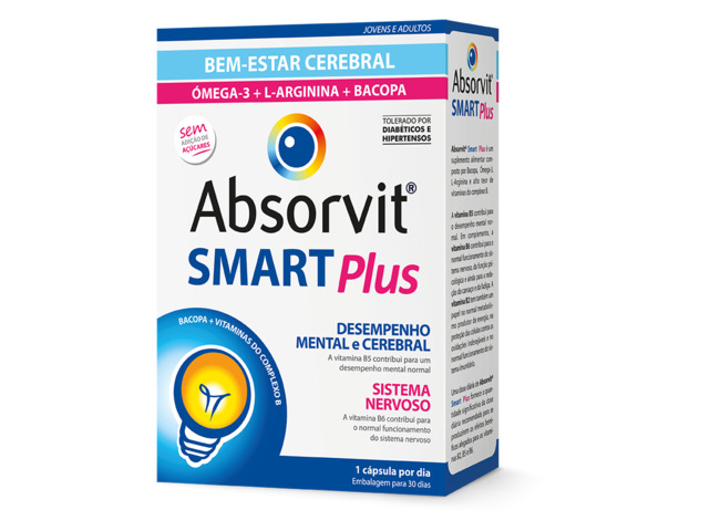 ABSORVIT SMART PLUS 30 CAPS