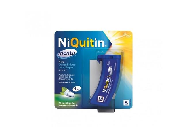 NIQUITIN MENTA 4 MG 20 COMP CHUPAR