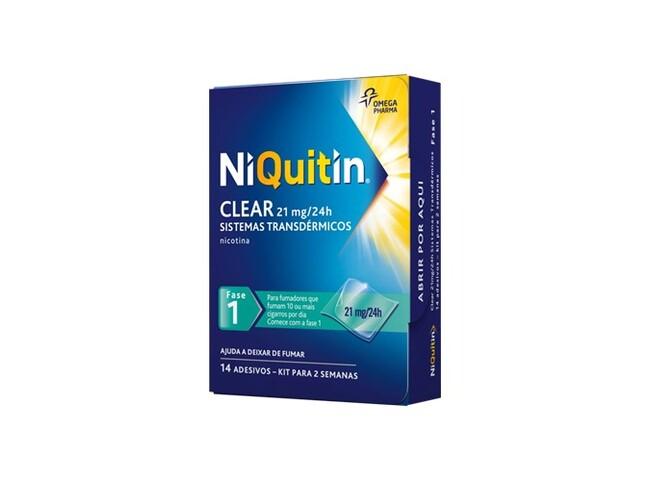 NIQUITIN CQ (FASE1) 21 MG 14 SIST TRANSDERMICO