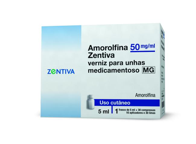 AMOROLFINA ZENTIVA 50MG/ML 5ML VERNIZ UNHA MED