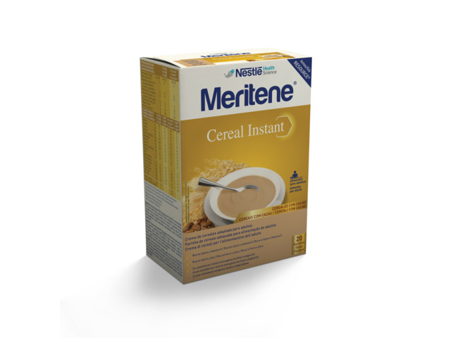 MERITENE CEREAL INSTANT CACAU 300G X 2