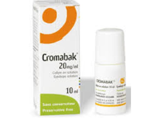 CROMABAK 2% COLIRIO 10 ML