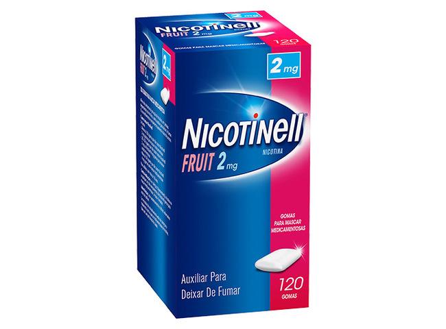 NICOTINELL FRUIT 2 MG 120 GOMA