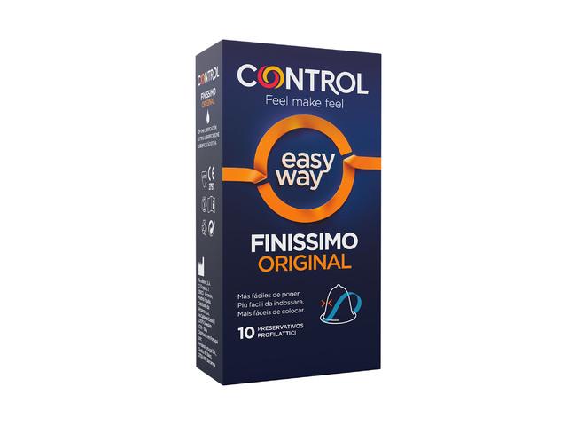 CONTROL FINISSIMO EASY WAY 10 PRESERVATIVOS