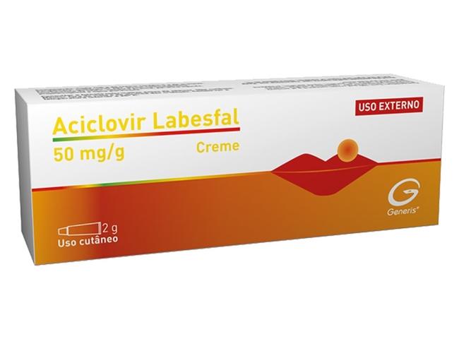 ACICLOVIR LABESFAL CR 5% 2 G