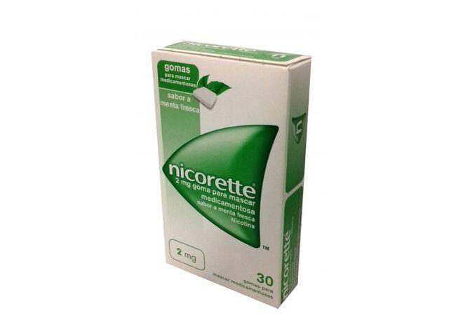 NICORETTE 2 MG 30 GOMAS HORTELA-PIMENTA