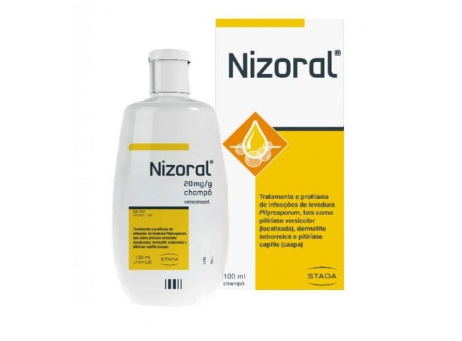 NIZORAL CHAMPO 2% 100 ML