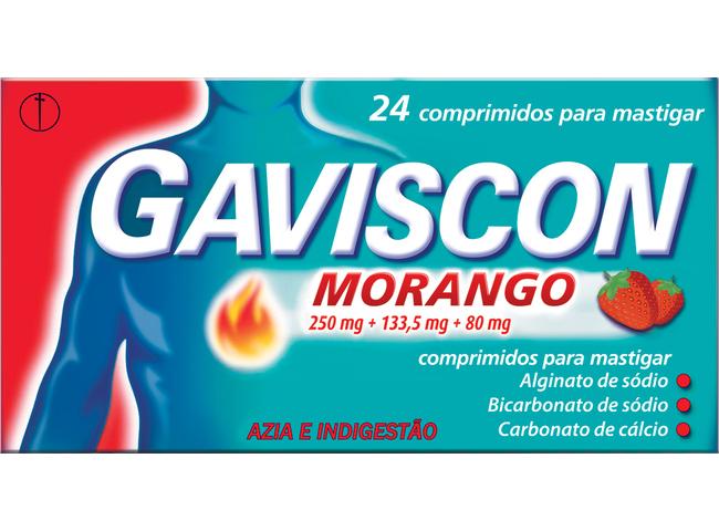 GAVISCON 24 COMP MAST MORANGO