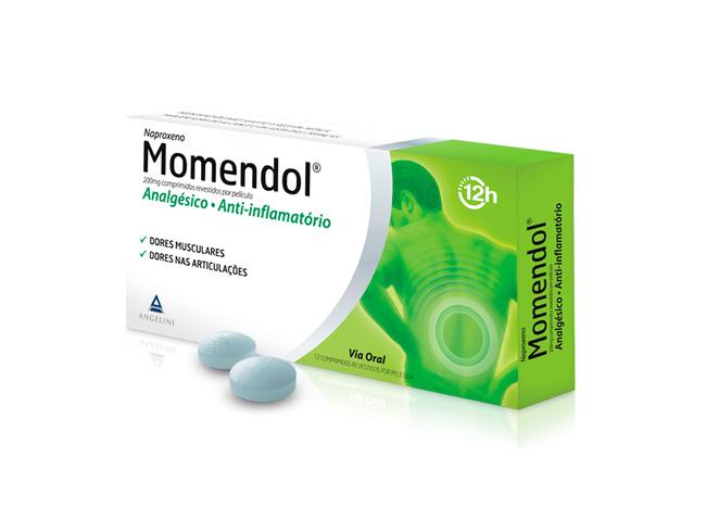 MOMENDOL 200 MG 12 COMP
