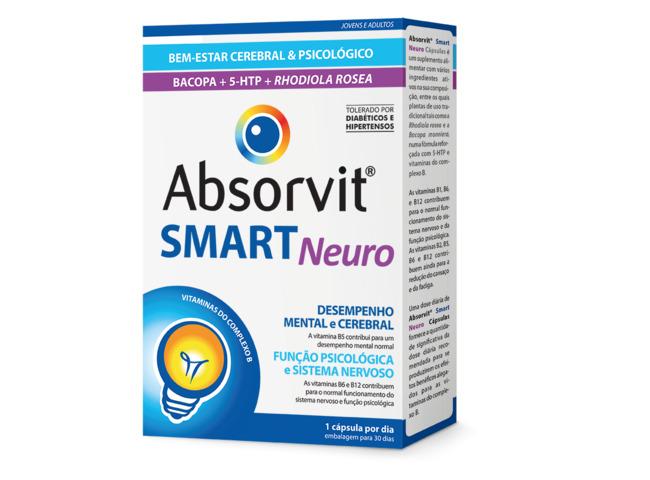 ABSORVIT SMART NEURO 30 CAPS