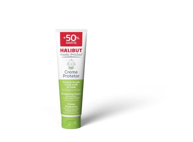 HALIBUT MUDA FRALDAS CREME 100G+50% GRATIS (150G)