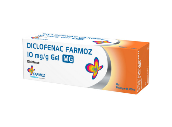 DICLOFENAC FARMOZ 10 MG/G GEL 100 G