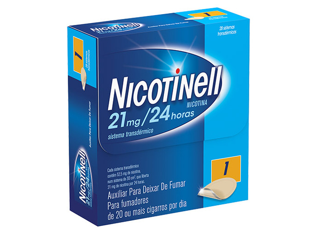 NICOTINELL 21MG/24H 28 SIST TRANSDER