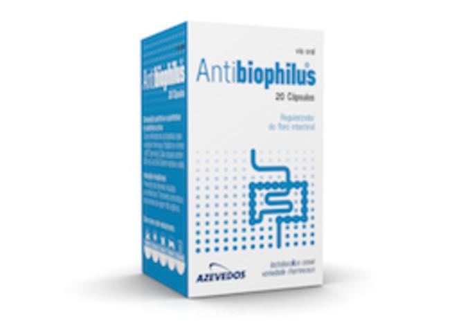 ANTIBIOPHILUS 250 MG 20 CAPS