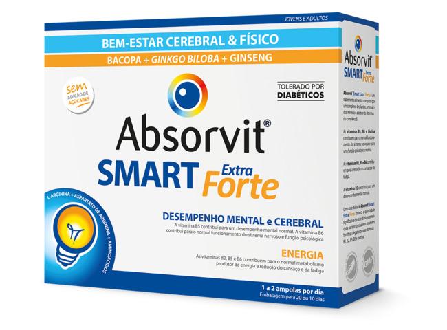 ABSORVIT SMART EXTRA FORTE 10ML X 20 AMP