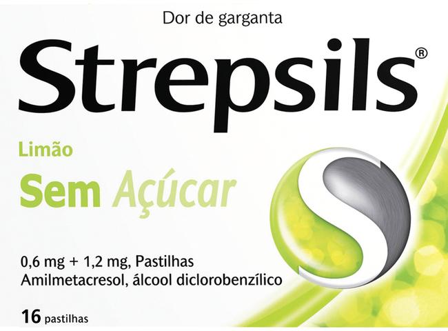 STREPSILS LIMAO S/ACUCAR 16 PASTILHAS