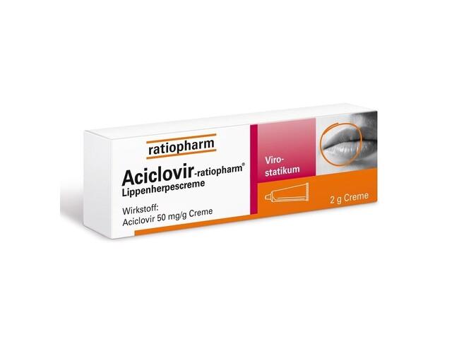 ACICLOVIR RATIOPHARM CR 5% 2 G