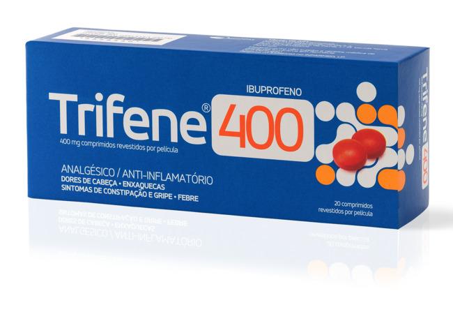 TRIFENE 400 MG 20 COMP