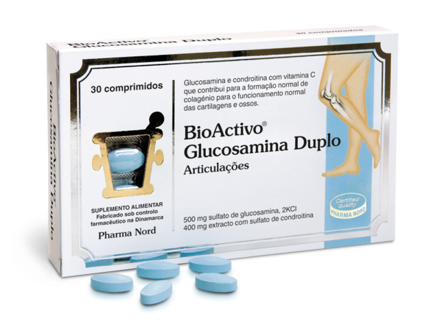BIOACTIVO GLUCOSAMINA DUPLO 30 COMP