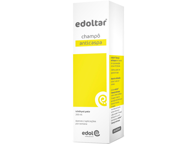 EDOLTAR CHAMPO ANTICASPA 200 ML