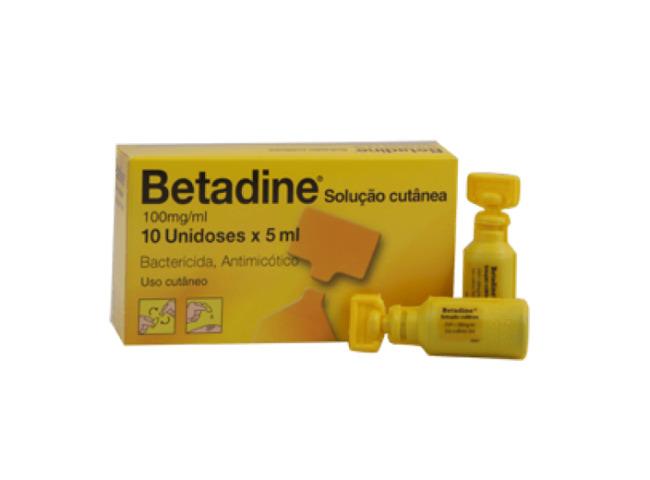BETADINE DERMICO SOL TOP 10% 10 MONODOSES