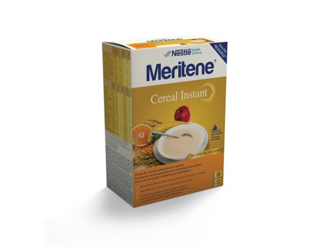 MERITENE CEREAL INSTANT MULTIFRUTAS 300G X 2