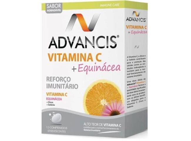 ADVANCIS VIT C+EQUINACEA 12 COMP EFERV