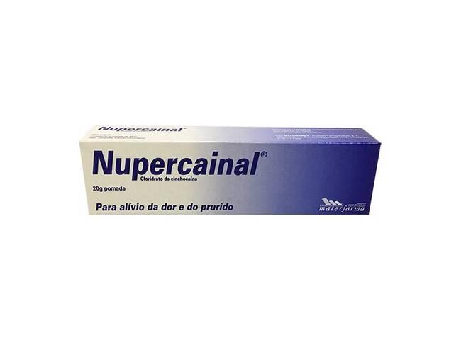 NUPERCAINAL POMADA 20G