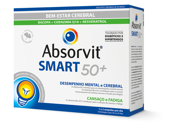 ABSORVIT SMART 50 + 30 AMP