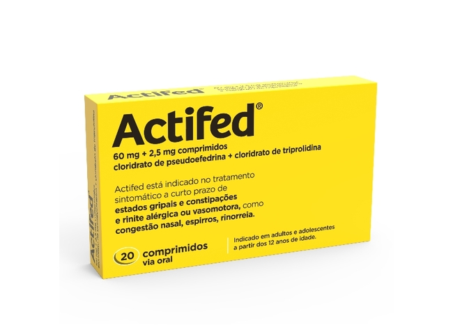 ACTIFED 20 COMP