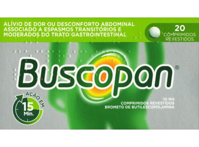 BUSCOPAN 10 MG 20 COMP