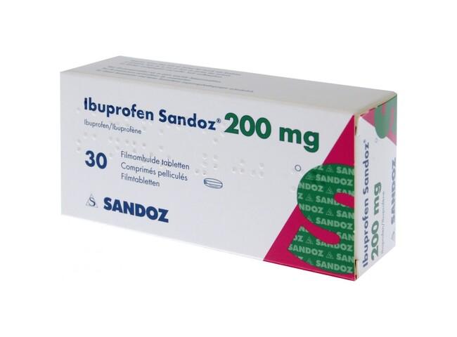 IBUPROFENO SANDOZ 200 MG 20 COMP