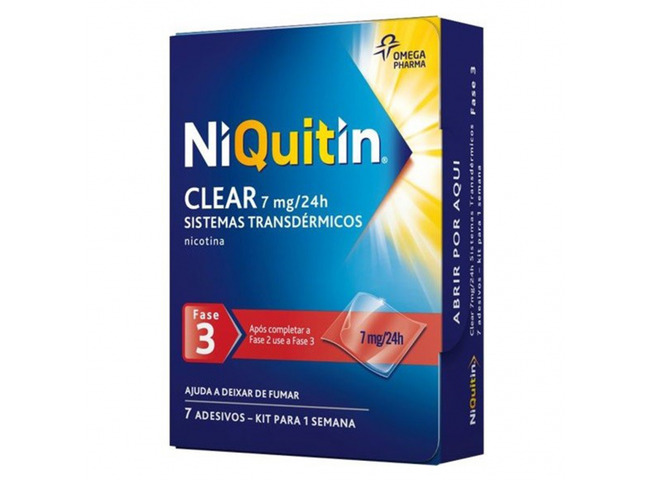 NIQUITIN CQ (FASE3) 7 MG 7 SIST TRANSDERMICO