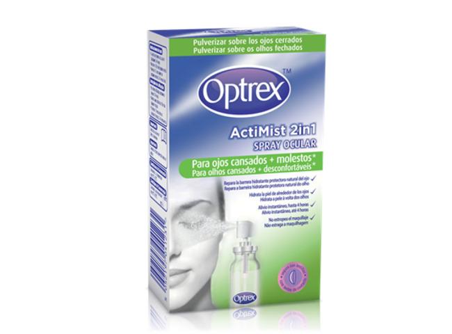 OPTREX ACTIMIST 2EM1 SPRAY OLHOS CANSADOS 10ML