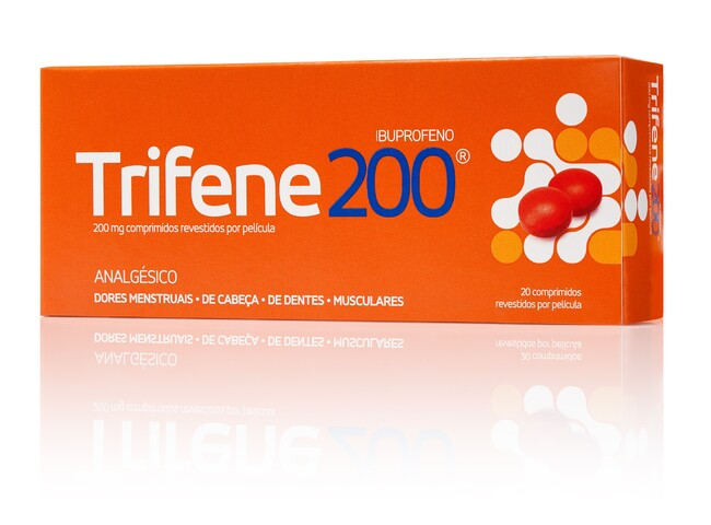 TRIFENE 200 MG 20 COMP