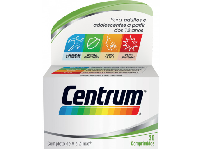 CENTRUM LUTEINA 30 COMP