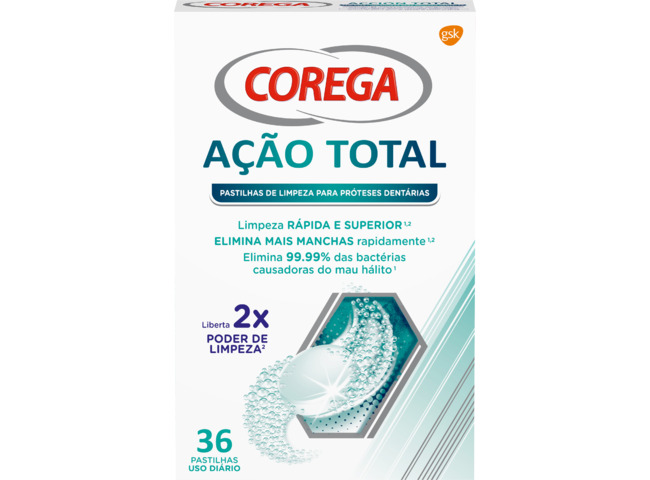 COREGA ACAO TOTAL PAST LIMP DIARIA X 36