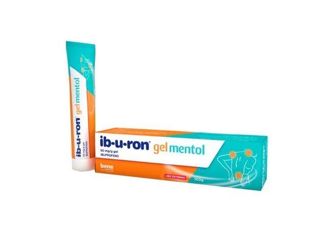 IB-U-RON 5% GEL MENTOL 100G