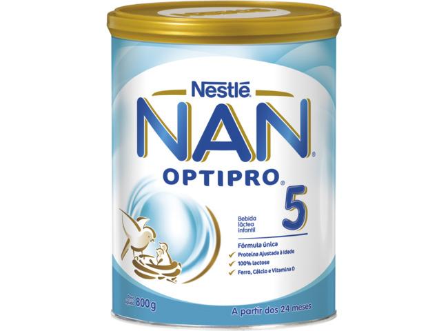 NAN OPTIPRO 5 LEITE 800G