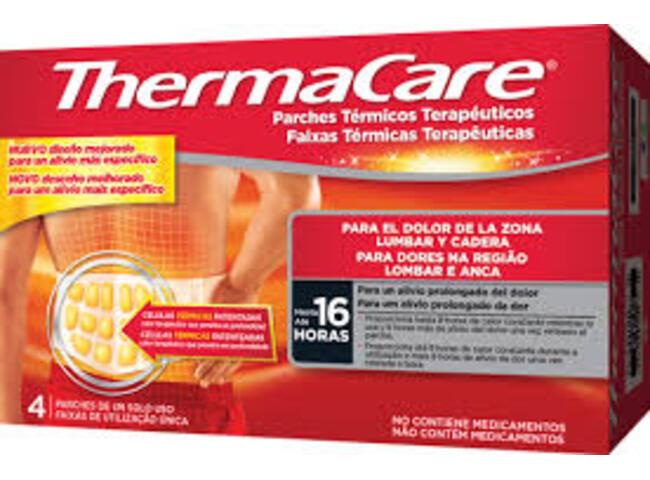 THERMACARE FAIXA LOMBAR ANCA X 4