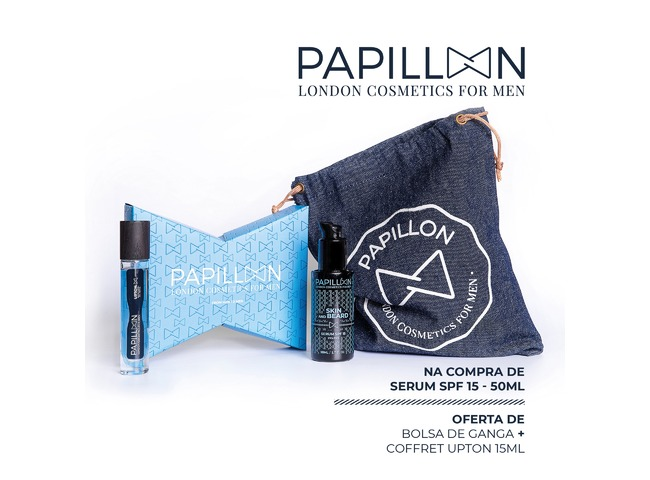 PAPILLON SERUM BARBA/PELE SPF15 50ML