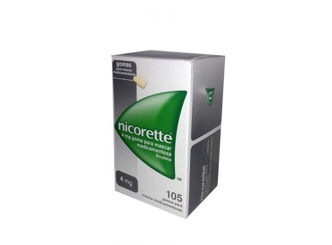 NICORETTE 4 MG 105 GOMAS ORIGINAL