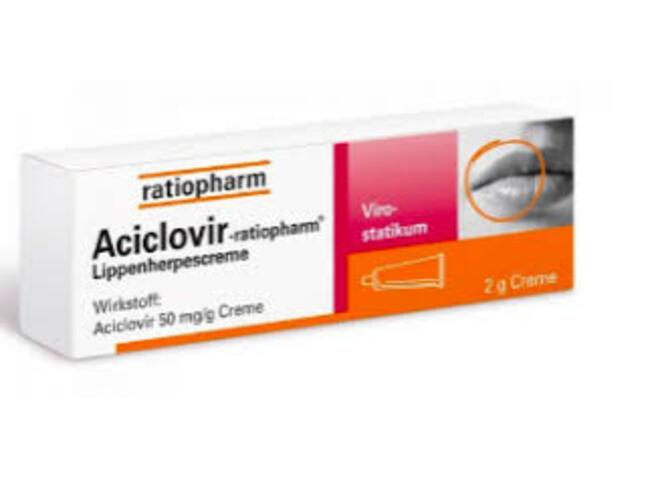 ACICLOVIR RATIOPHARM CR 5% 10 G