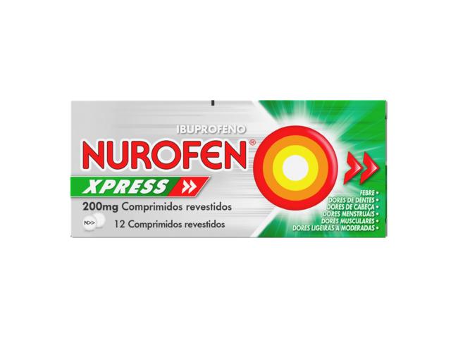 NUROFEN EXPRESS 200 MG 12 COMP
