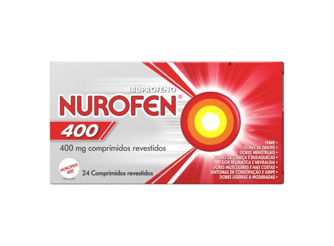 NUROFEN 400 MG 24 COMP