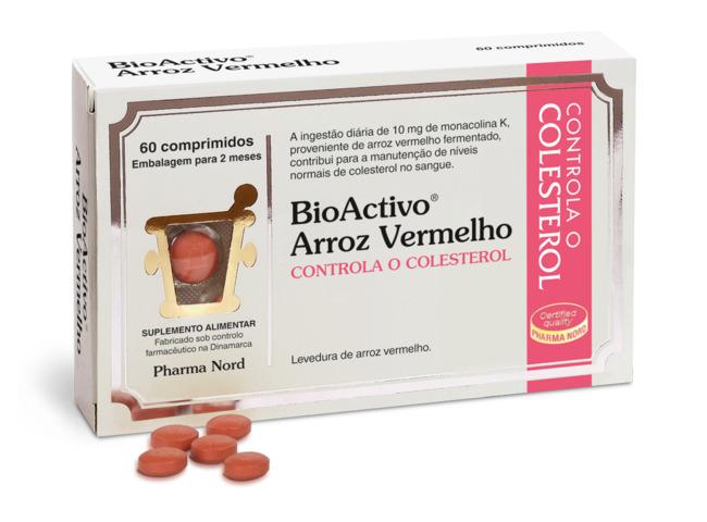 BIOACTIVO ARROZ VERMELHO 60 COMP