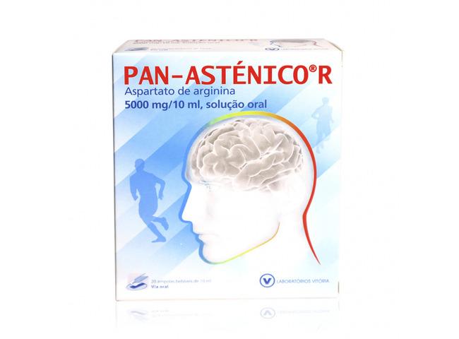 PAN-ASTENICO R 5000MG/10ML 20 AMP BEB X 10ML