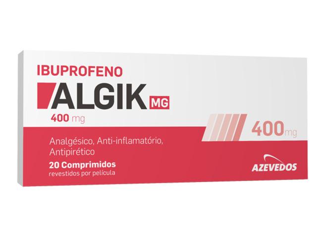 IBUPROFENO ALGIK 400MG 20 COMP REV PEL