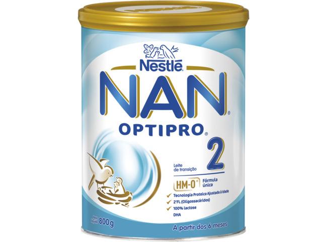NAN OPTIPRO 2 LEITE 800G