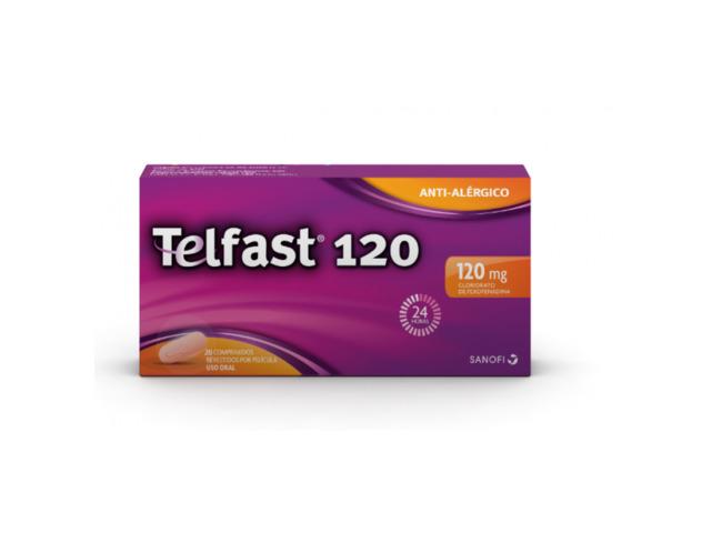TELFAST 120 MG 20 COMP